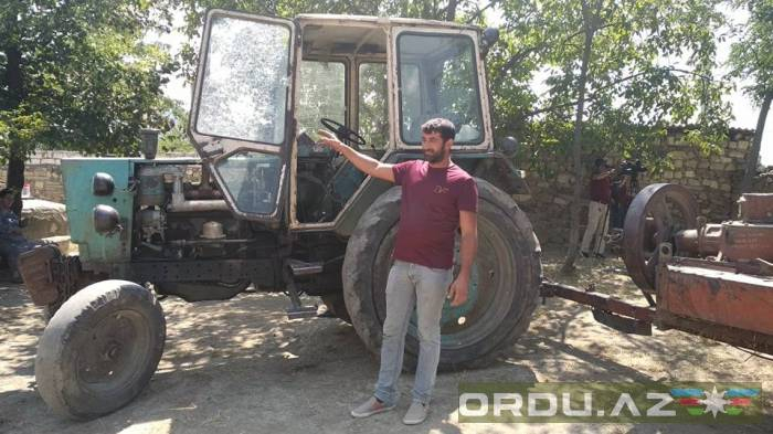 Francotiradores armenios dispararon contra un civil-  Fotos