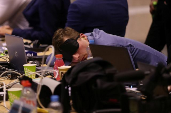 Working the night shift, EU leaders try to fill top jobs