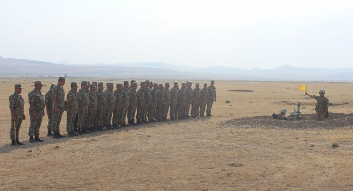 Training-methodical sessions were conducted in the Army Corps - PHOTOS