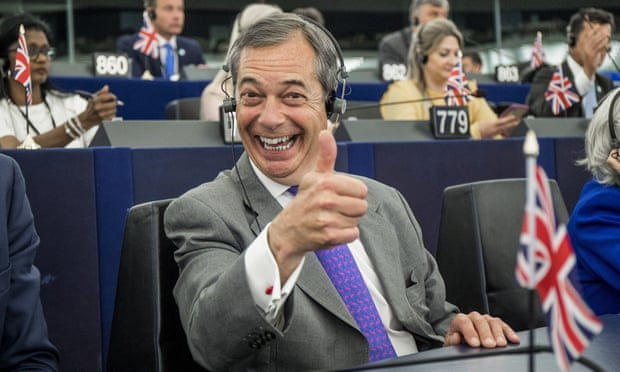 Nigel Farage earns at least €30,000 a month from media company