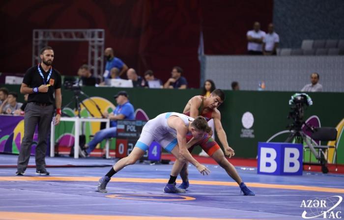 Two more Azerbaijani athletes win gold medals at EYOF in Baku
