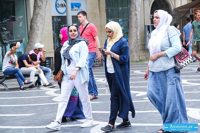 6 ayda Azərbaycana 1,4 milyona yaxın tursit gəlib