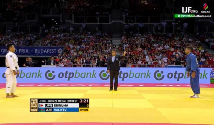 Judoka azerbaiyano gana el bronce en el Gran Premio de Budapest