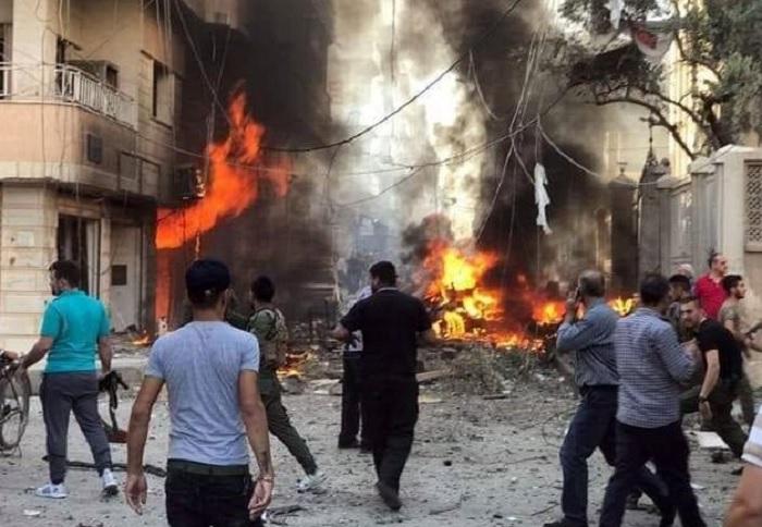 Suriyada bombalanmış avtomobil partladılıb