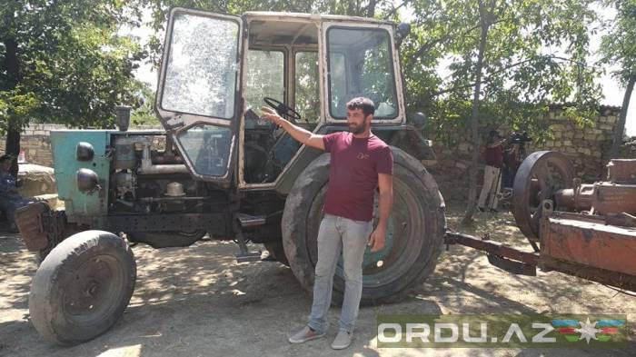 القناصة الأرمنية تطلق النار على أحد السكان المسالمين -   صور
