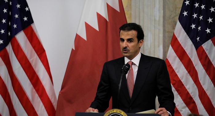 وزير الخارجية الأمريكي وأمير قطر يبحثان التوترات في الخليج