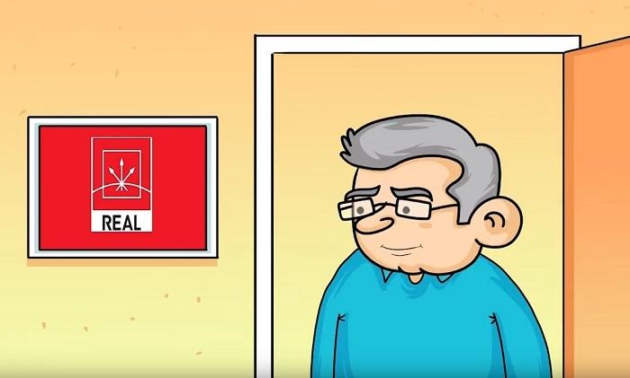 """""""Gəl, realda görüşək"""" – Siyasi Animasiya"""