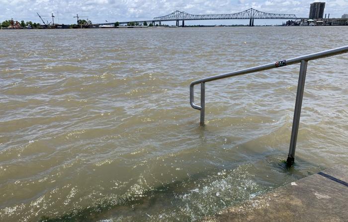 La côte de la Louisiane évacuée avant l
