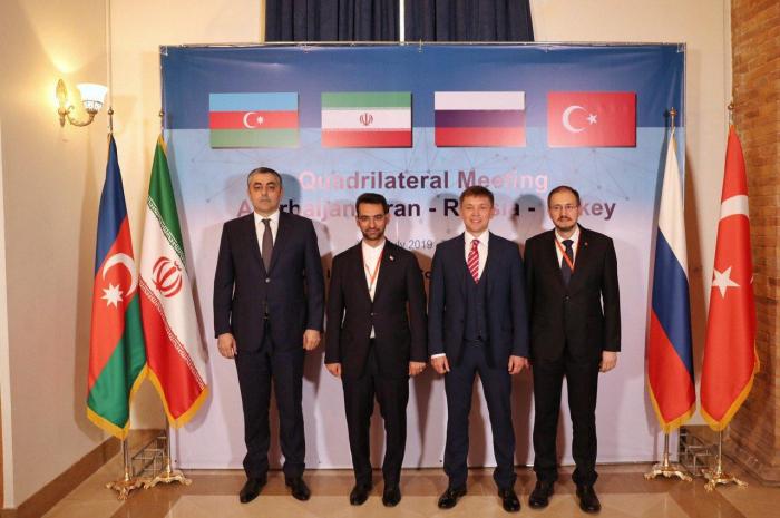 Tehran hosts high-rank quadrilateral meeting between Iran, Azerbaijan, Russia and Turkey