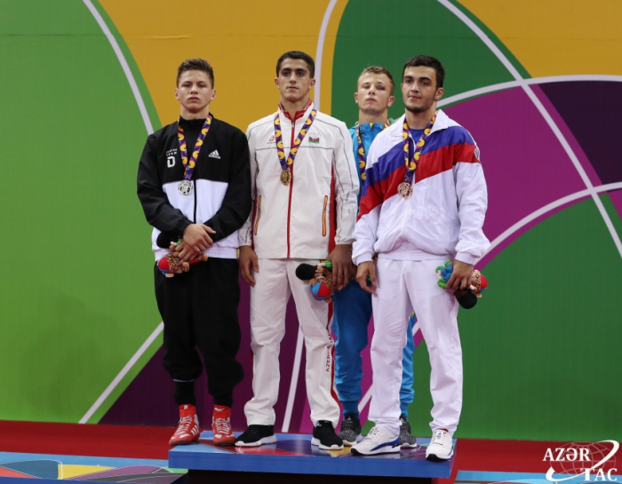 Jabrayil Hajiyev adds 8th gold to Azerbaijan`s medal haul at EYOF Baku 2019