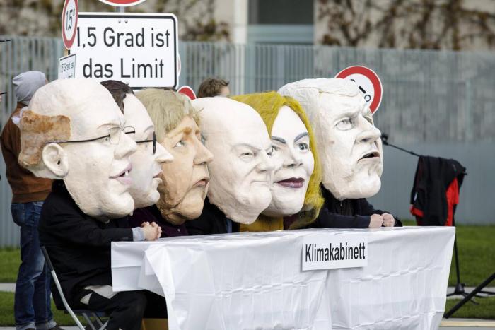 Noch keine Entscheidungen im Klimakabinett - Der Druck wächst