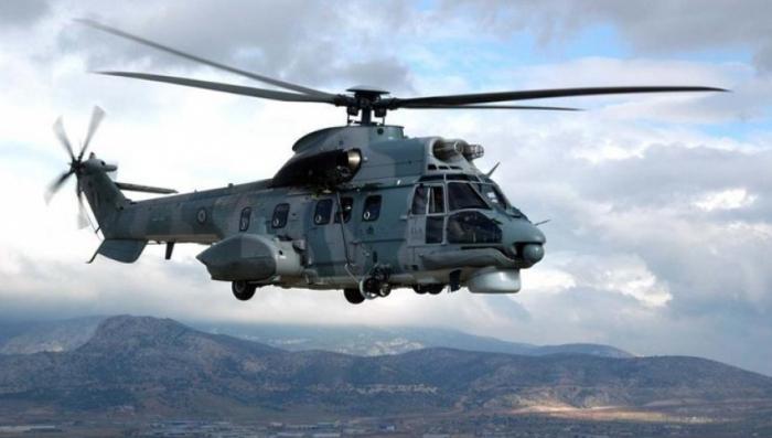 Almaniyada hərbi helikopter qəzaya uğrayıb