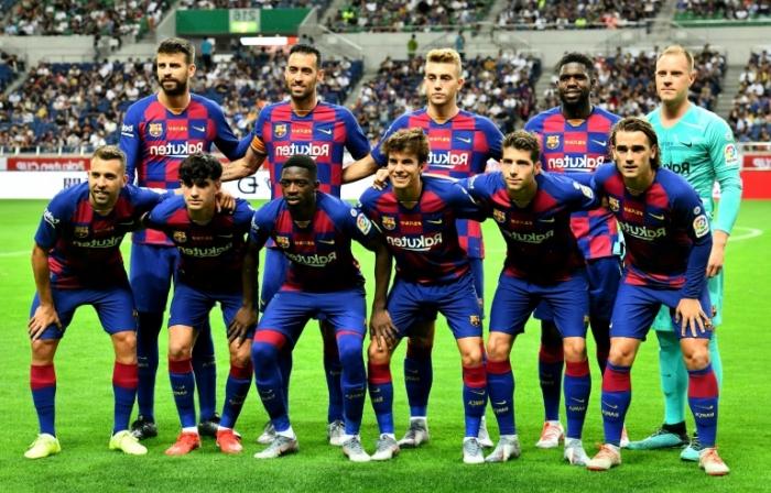 Le FC Barcelone a atteint près d