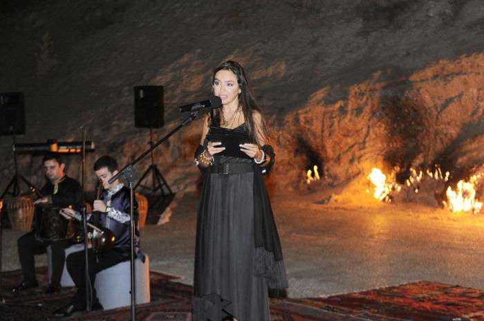 Leyla Əliyeva yoqa və poeziya axşamında iştirak edib- Fotolar