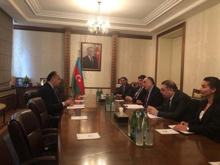 Azerbaijani FM receives Jordan ambassador to Azerbaijan