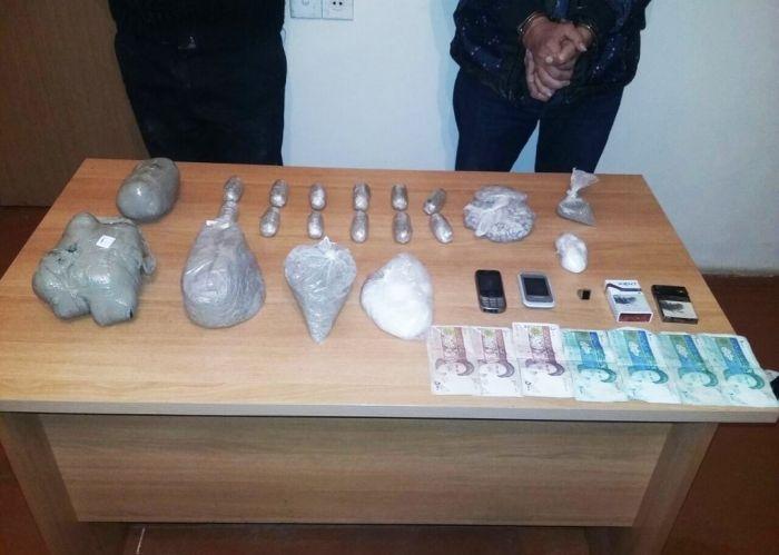 Əcnəbi qaçaqmal narkotik daşıyıcıları saxlanılıb