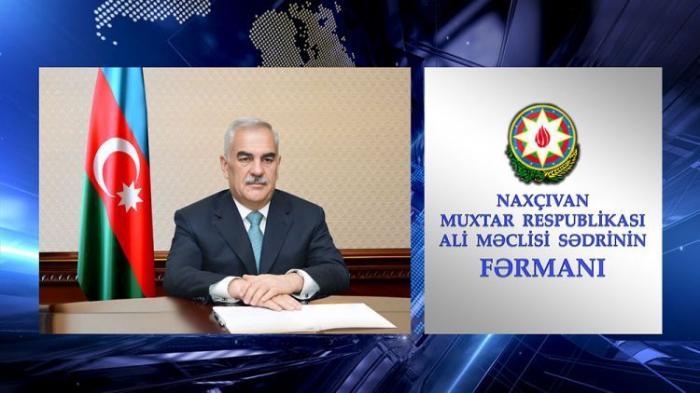 Naxçıvan DTX-ya yeni rəis təyin edildi