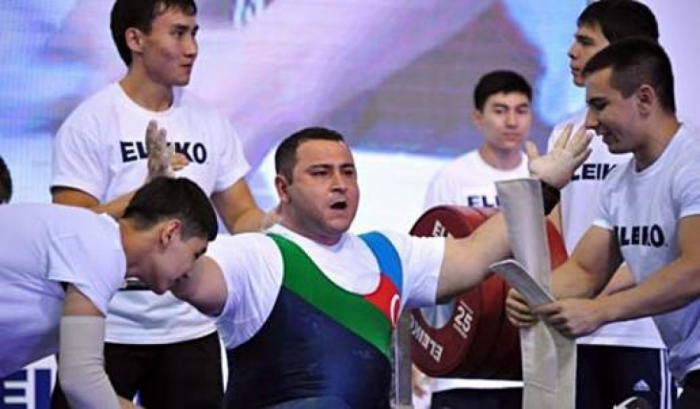 Azerbaijani Paralympic powerlifter qualifies for Tokyo 2020