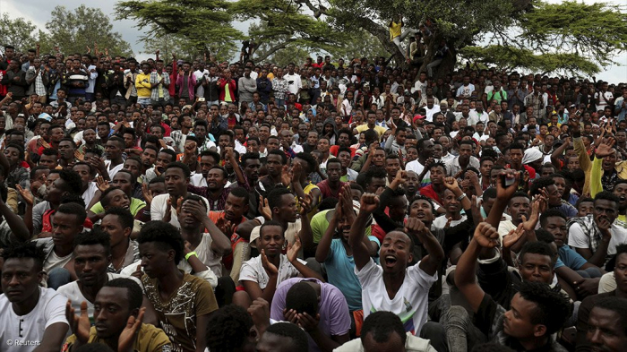 Protesters take to streets to declare new Ethiopian region