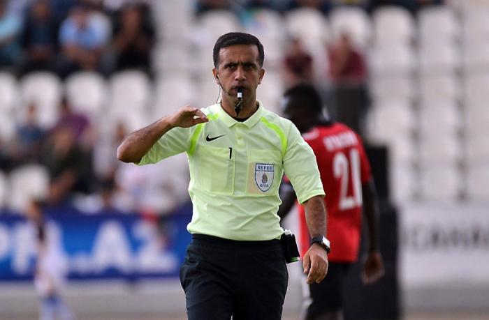 El árbitro azerbaiyano de la FIFA ha sido nombrado para los partidos clasificatorios de la Copa Mundial