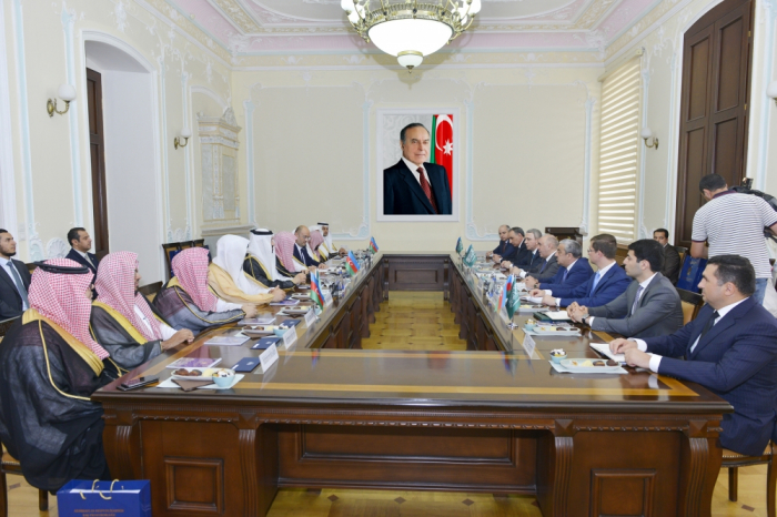 Saudi minister hails cooperation with Azerbaijani law enforcement authorities