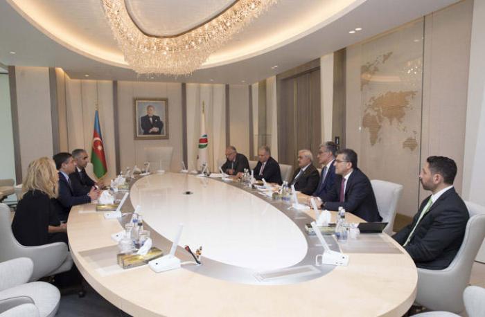 SOCAR and Baker Hughes, a GE company, hold meeting in Baku