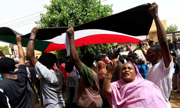 Scores of protesters wounded and seven dead on Sudan