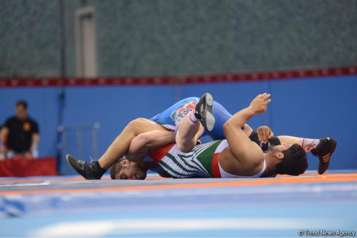 Another Azerbaijani wrestler wins silver medal at Baku 2019 EYOF