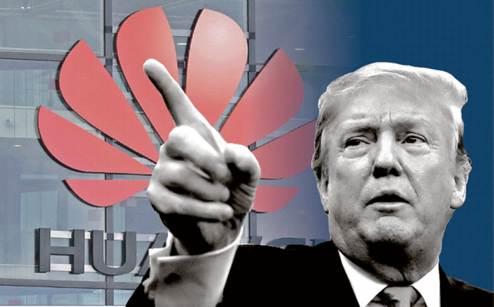 Trump discusses Huawei issues with Google, Intel, and Cisco heads