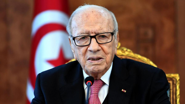 Tunisia president hospitalized after health scare: president