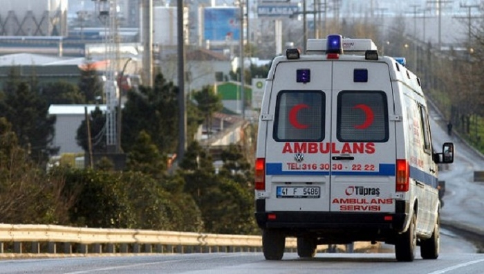 Bus with 5 Azerbaijani citizens gets into road accident in Antalya