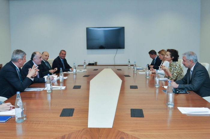 Mammadyarov meets with the Director-General of UNESCO