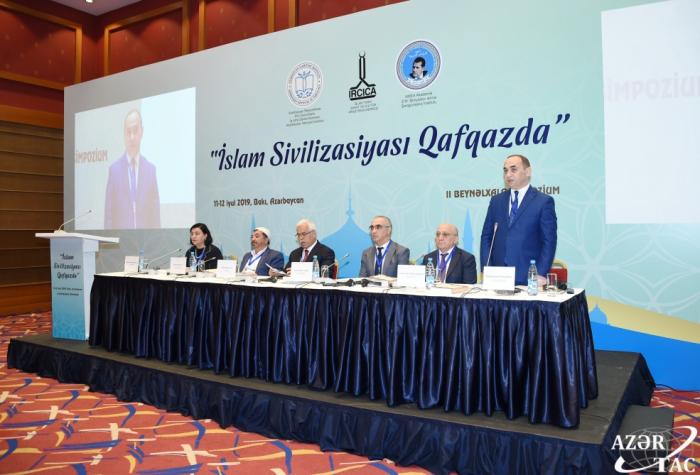 Bakou accueille le IIe Symposium international «La civilisation islamique dans le Caucase»