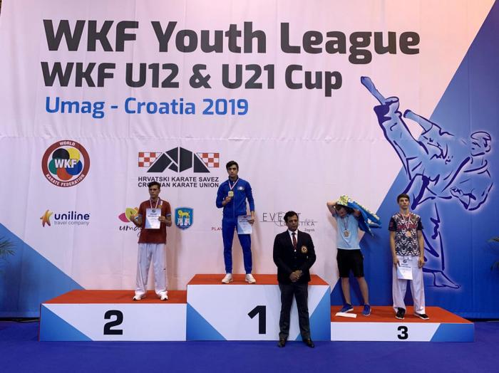 Karateçilərimiz daha iki medal qazanıb