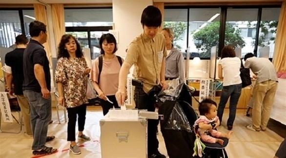 الائتلاف الحاكم في اليابان يحتفظ بأغلبية مجلس المستشارين