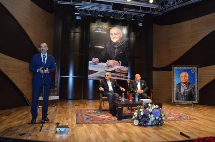Akademik Rasim Əliyevin 85 illiyi qeyd edilib