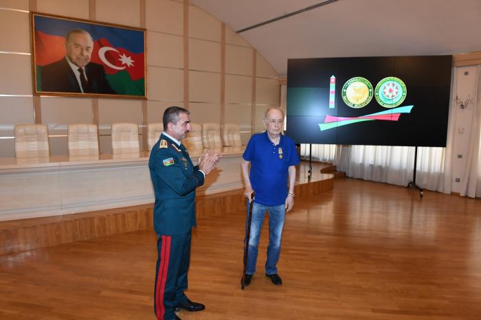 """""""Azərbaycan Sərhəd Mühafizəsi - 100 il"""" filmi təqdim edildi - FOTOLAR"""