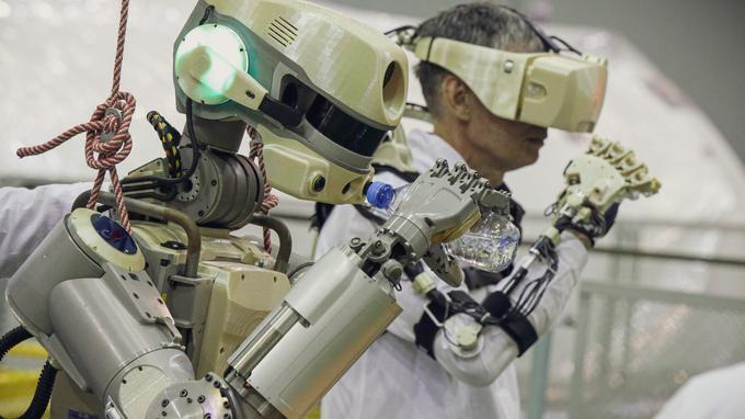 Soyouz avec le robot Fedor ne parvient pas à s