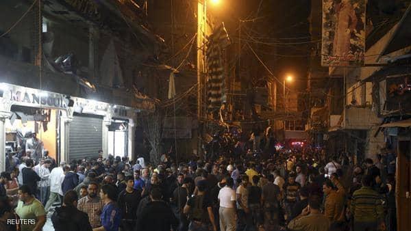 دوي انفجارات بمعقل ميليشيات حزب الله بالضاحية الجنوبية