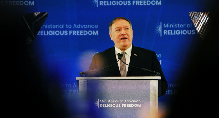 """بومبيو يرحب بقرار الباراغواي بتسمية """"حزب الله""""و""""داعش"""" منظمات إرهابية"""