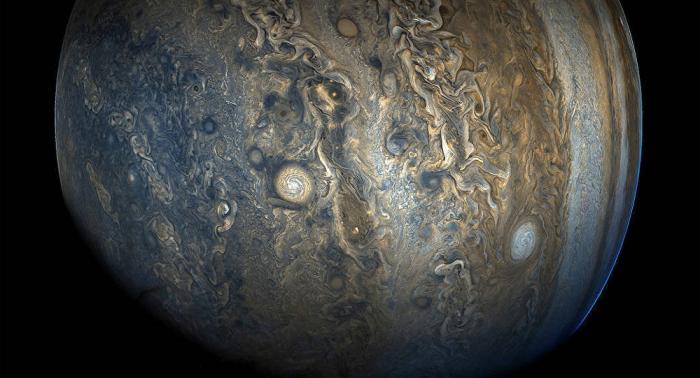 Jupiter a «englouti» une autre grande planète