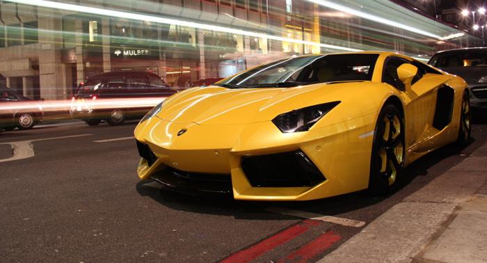 Les vamps de Lamborghini présentées lors d'un concours d'élégance