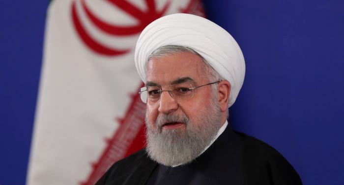 الرئيس الإيراني: هدف أمريكا من وجودها في الخليج تفريغ خزائن دول المنطقة