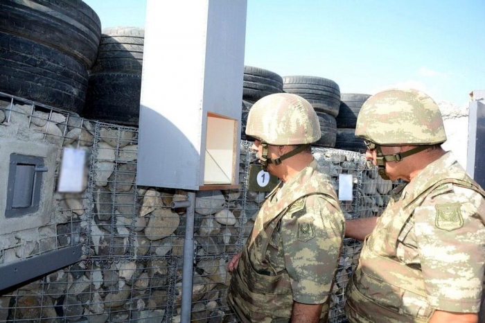 Azerbaijan's defense minister visits foremost military units