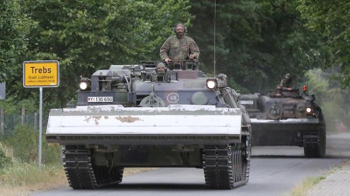 Polen moniert deutsche Militärausgaben