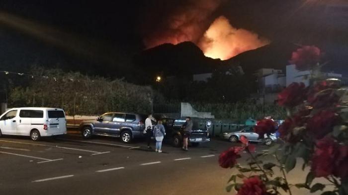5000 Menschen auf Gran Canaria evakuiert
