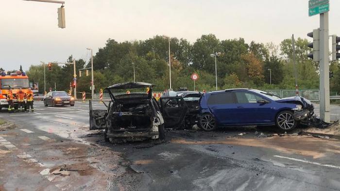 Flüchtender Autofahrer tötet Unbeteiligten
