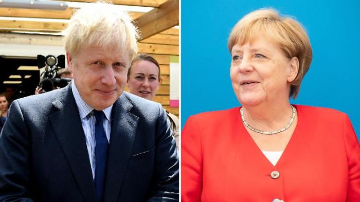Johnson trifft Merkel auf unmöglicher Mission