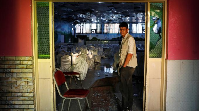 Attentat en Afghanistan :   63 morts lors d