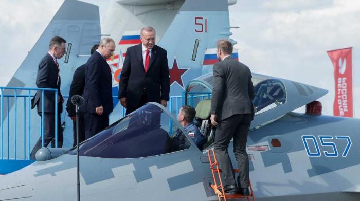 """Ərdoğan Rusiyadan """"Su-57""""lərin alınacağını açıqladı"""